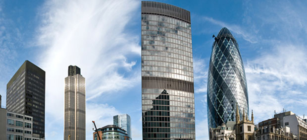London skyscrapers