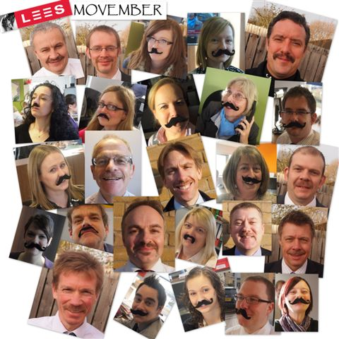 LEES Movember 2011